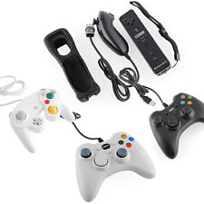New Game Controller Remote Joypad Gamepad Fit for Nintendo Wii GameCube PC