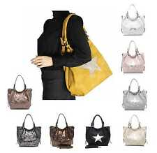ital design Ladies Star Bag Shopper Handbag Handbag Shoulder Bag