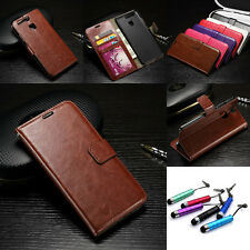 Flip Fashion Hot Stand Cards Wallet Leather Case Skin Cover For Huawei+Free Gift