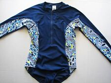 NWT South Point PADDLE BOARD Long Sleeve Swimsuit Zip Up SUP Surf Rash Guard
