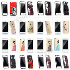 Hard/Soft Silicone/PC Case Shells Housing Cover For Apple Phone iPhone 6/6s 5/5s