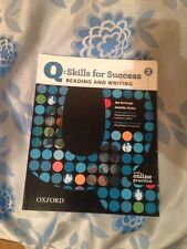 Q: Skills for Success - Reading and Writing No. 2, Pack by Jennifer Bixby and...