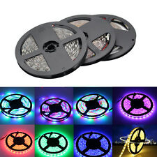 5M 300LEDS 3528 RGB LED Strip Light+24/44key Remote Control+Power Adapter
