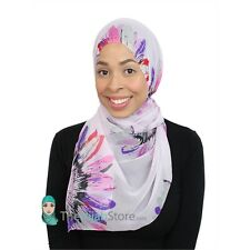 TheHijabStore Sunflower Sheer Oblong Wrap Hijab