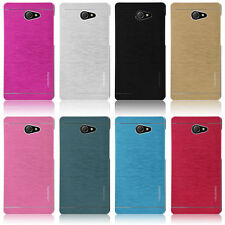 Motomo Metal Aluminum Brushed Hard Back Case Cover Skin For For Sony Xperia M2