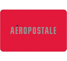 Aeropostale Gift Card - $25 $50 or $100 - Fast Email delivery