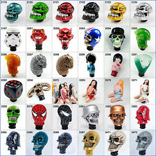 36-Styles Car Truck Manual Operation Gears Shift Shifter Lever Knob Handle Head
