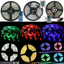 SINOLLC 5M 300Leds 3528/5050 SMD RGB/RGBW Warm&Cool White LED Strip Light Lamp