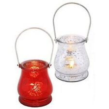 Candle Holder - Mercury Glass Lantern