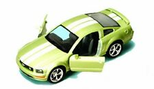 2006 Ford Mustang GT, Green - Kinsmart 5091DF - 1/38 scale Diecast Model Toy Car