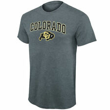 New Agenda Colorado Buffaloes Charcoal Arch Over Logo T-Shirt
