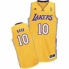adidas Steve Nash Los Angeles Lakers Youth Gold Swingman Home Jersey