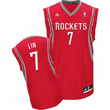 adidas Jeremy Lin Houston Rockets Youth Red Replica Road Jersey