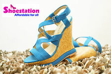 Women's Wedge Sexy Buckle Open Toe Platform Comfort Sandal Shoes Ankle NEW 5 -11