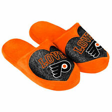 Philadelphia Flyers Women's Love Glitter Slide Slippers