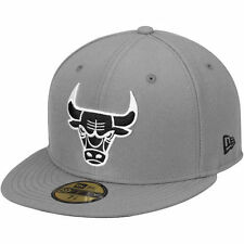 New Era Chicago Bulls Gray/Black 59FIFTY Fitted Hat