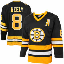Mitchell & Ness Cam Neely Boston Bruins Black Throwback Authentic Vintage Jersey