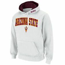 Stadium Athletic Arizona State Sun Devils White Arch & Logo Pullover Hoodie