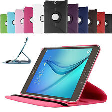 360 Rotating Smart Case Cover For Samsung Galaxy Tab S2 9.7 T810 T815 +Protector