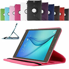 360 Rotating Smart Case Cover For Samsung Galaxy Tab E 9.6 T560 + Protector