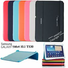 CASE BOOK COVER For Samsung Galaxy Tab 4 10.1 T530 + Protector Film + Stylus