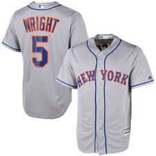 Majestic David Wright New York Mets Gray Cool Base Player Jersey