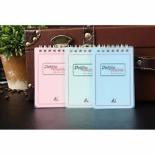 100K Spiral Coil Pocket Upturned Notebook Ruled Diary Journal Note Pad Memo Book