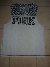 "VICTORIAS SECRET PINK AZTEC NEW TANK TOP ""PINK"" TANKTOP NWT"
