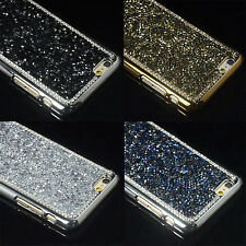 Luxury Bling Crystal Rhinestone Glitter Hard Back Case Cover For iPhone Samsung