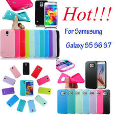 New Ultra Slim Soft TPU Case Silicone Gel Skin Jelly Cover for Samsung S5 S6 S7