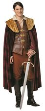 Once Upon a Time Prince Charming Mens Plus Size Costume, Rasta Imposta, Licensed