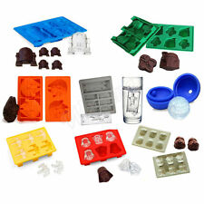 Silicone Star Wars Ice Cube Tray Mold Cookies Chocolate Soap Baking DIY Mould