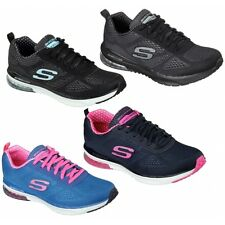 Skechers SKECH AIR INFINITY 12111 Ladies Womens Gym Sports Fitness Trainers