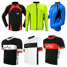 Men's Cycling Jersey / Shirt Short Sleeves & Full Sleeves Cycle Bicycle Top