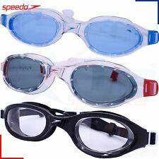 Speedo Swimming Goggles - Futura Plus Adults Mens / Womens - UV