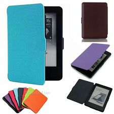 Magnetic Leather Smart Case Cover for Amazon Kindle 6 / Kindle Paperwhite 1 2 3