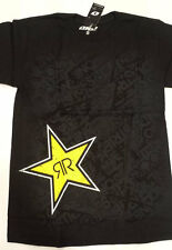 ROCKSTAR ENERGY SHIRT RE-UP BLACK TEE - Adult Small