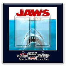 Light Switch Plate Cover Jaws Poster Shark w/ Rocker Switch  Outlet