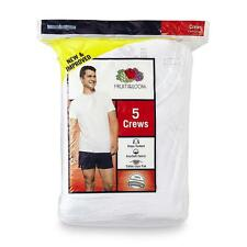 Fruit of the Loom Men's 5-Pack Crew Neck T-Shirts. Size 2X or 3X