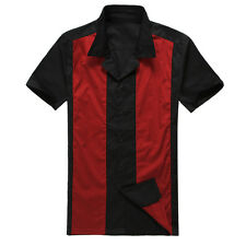 50s male clothing rockabilly style fashion indie mens fifties shirts 3 colours