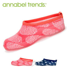 NEW Annabel Trends Gummies Sliders Outdoor Slide On Gum Boots Short Gumboots