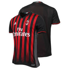 AC MILAN ADIDAS HOME JERSEY RED 2016 2017 FOOTBALL CLUB SOCCER OFFICIAL NEW