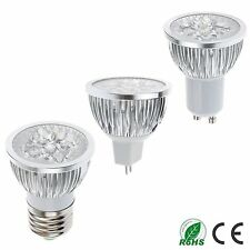 LM 12W MR16/E27/GU10 4x3W LED Lamp Spot light Warm Cool White Bulb Downlight