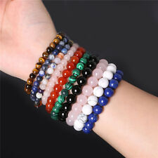 2016 New Fashion Natural Stone Beads Spot Healing Stone Bangle Bracelet GS8
