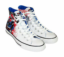 Limited Edition Superman Converse Hi Top All Star Chuck Taylor (White)
