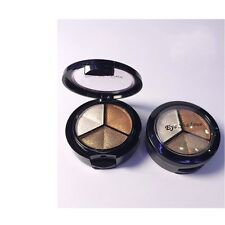 3 Colors Eyeshadow Natural Smoky Cosmetic Eye Shadow Palette Set Make Up a