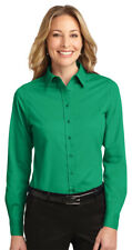 Port Authority Women's Long Sleeve Easy Care Button Front Dress Shirt. L608