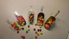 Acrylic Plastic Kitchen Scoops Wedding Candy Dessert Buffet Scoops