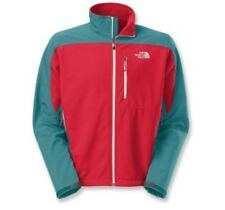 The North Face mens Apex Bionic soft shell Jacket Red Blue XXL outdoor