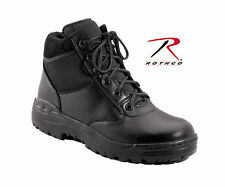 """Tactical Boot Black 6"""" Forced Entry Tactical Boots Cup Sole Rothco 5054"""